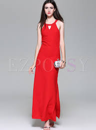 sexi maxi dress color slim maxi dress ezpopsy