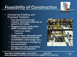 Plank Construction Style J Aaron Feasibility And Consequences In Staggered Truss Construction Ppt