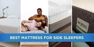 best mattress for side sleeper 5 best mattresses for side sleepers reviews
