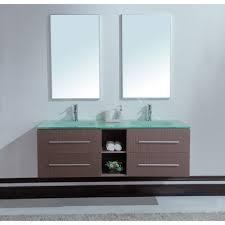 bathroom modern twin bathroom sinks with wooden cabinet