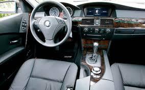2005 bmw 530i sideways luxury sedan comparison motor trend