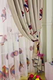 Curtain Cartoon by Curtains Spiderman Curtain For Princess Room Custom Curtains