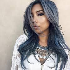 Wash Away Hair Color Stonewashed Denim Hair Color By Guy Tang Silver Hair Color