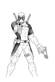 deadpool full body drawing dead pool pinterest body drawing