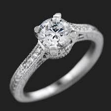 wedding rings vintage vintage engagement rings antique engagement rings miadonna