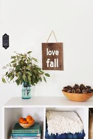 diy rustic sign to welcome fall the m and m realty group