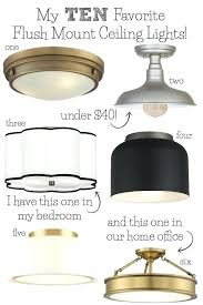 How To Install A Flush Mount Ceiling Light Light Flush Fit Ceiling Light