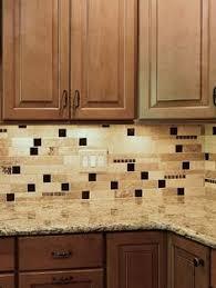 brown cabinet 4x4 ivory travertine tile from backsplash com