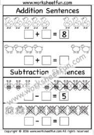 addition subtraction free printable worksheets u2013 worksheetfun