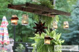 Outdoor Chandelier Diy 6 Cool And Fun Diy Outdoor Chandeliers For Patios Shelterness