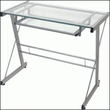 Small Glass Desks Glass Computer Desk Affordable Whalen Astoria Computer Desk Brown