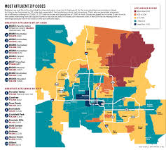 City Of Phoenix Map by Where The Money Lives Poor Areas Of Phoenix Offer Different