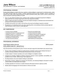 Security Officer Sample Resume by Military Intelligence Resume Resume For Your Job Application