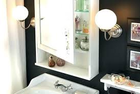 Bathroom Mirror Unit Bathroom Mirrors With Storage Akapello
