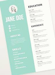 awesome resume templates free unique resume templates free lovely free graphic design resume