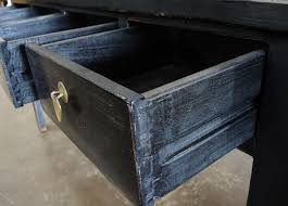 Black Console Table With Drawers Black Console Sofa Entry Table With Drawers Custom Furniture Gallery