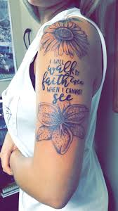 elephant tattoo with words flowers with quote tattoo tattoos pinterest tattoo flowers