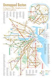 Mbta Map Boston by Transportation Links