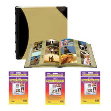 high capacity photo album pioneer photo albums 622500 fabric leatherette 500