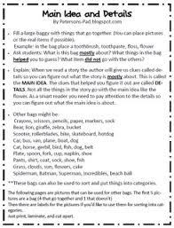 315 best main idea details images on pinterest main idea
