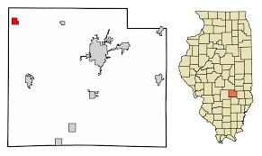 Illinois Map Of Cities by Beecher City Illinois Wikipedia