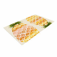 Pineapple Area Rug Excellent Pineapple Area Rug Roselawnlutheran In Attractive Best