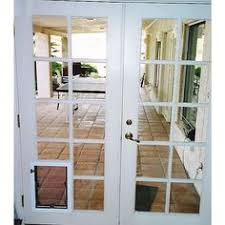 Patio Door With Pet Door Built In Doors With Doggie Door Built In Wood Doors