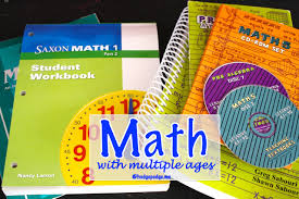 homeschool math with multiple ages hodgepodge