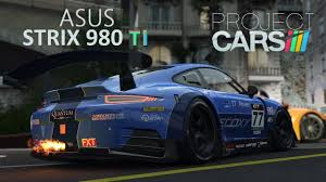 project cars pc g27 asus strix gtx 980 ti 1080p online