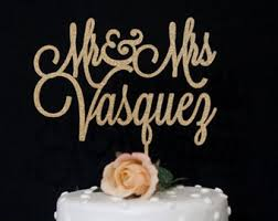 personalized wedding cake toppers wedding cake toppers etsy