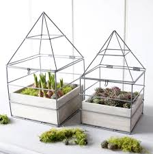 house frame planter by red lilly notonthehighstreet com