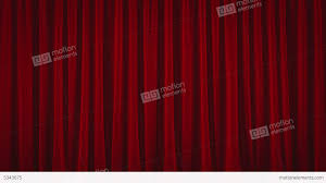 4k red austrian stage curtain go up and down stock animation 5343675