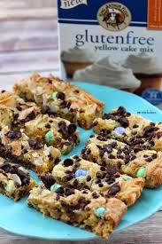 gluten free desserts thanksgiving gluten free cake mix cookie bars pint sized baker