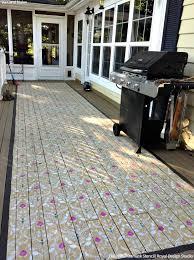 don u0027t refinish paint your hardwood floors with stencils diy