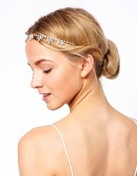 hairstyles with headbands foe mature women asos asos jewel petal flapper headband at asos 1920s fashion
