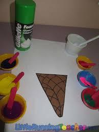 puffy ice cream little running teacher