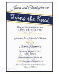 nautical bridal shower invitations nautical chevron anchor blue pink bridal shower card