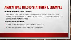 Character Sketch Essay Sample Analytical Essay Definition Reflective Thesis Statement Examples
