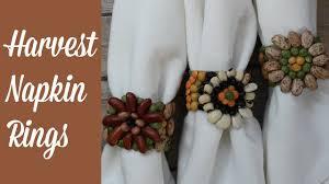 harvest napkin rings for thanksgiving or sukkot