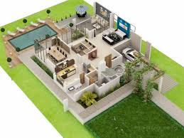3d model floor plan duplex home design plans 3d homeminimalis apartment plans
