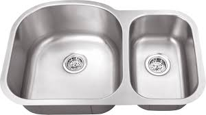 Kitchen  Stainless Steel Undermount Kitchen Sinks American - American standard undermount kitchen sink