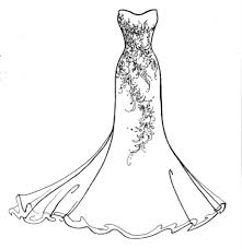 drawing wedding dresses how to draw a wedding dress simple gallery for gt wedding