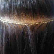 sewed in hair extensions 158 best hair weaves extensions and sew in techniques images on