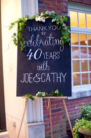 Celebrating Home Decor Best 25 40th Anniversary Ideas That You Will Like On Pinterest