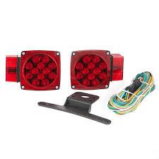 led trailer tail lights led trailer light kit under over 80 waterproof 2 tail lights