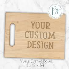 Maple Cutting Boards Cutting Boards Personalized Gallery