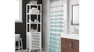 banya white bath tower crate and barrel