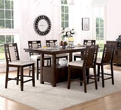 7 dining room set exquisite winston porter 7 counter height dining set