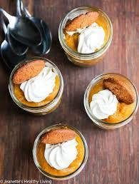 light pumpkin dessert recipes light pumpkin pie gingersnap parfaits recipe jeanette s healthy living