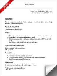 Sample Accounting Resume Objective by Classy Accounting Resume Objective 3 Accounting Resume Sample